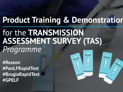 Product Training and Demonstration of PanLF and Brugia Rapid Test for Transmission Assessment Survey (TAS) Program for Ministry of Health, Malaysia